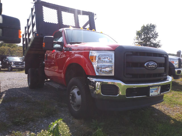 2016 F-350 Regular Cab DRW 4x4, Reading Steel Stake Bodies Stake Bed #FT16205 - photo 4