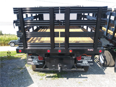 2016 F-350 Regular Cab DRW 4x4, Reading Steel Stake Bodies Stake Bed #FT16205 - photo 2