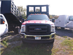 2016 F-350 Regular Cab DRW 4x4, Reading Steel Stake Bodies Stake Bed #FT16205 - photo 3