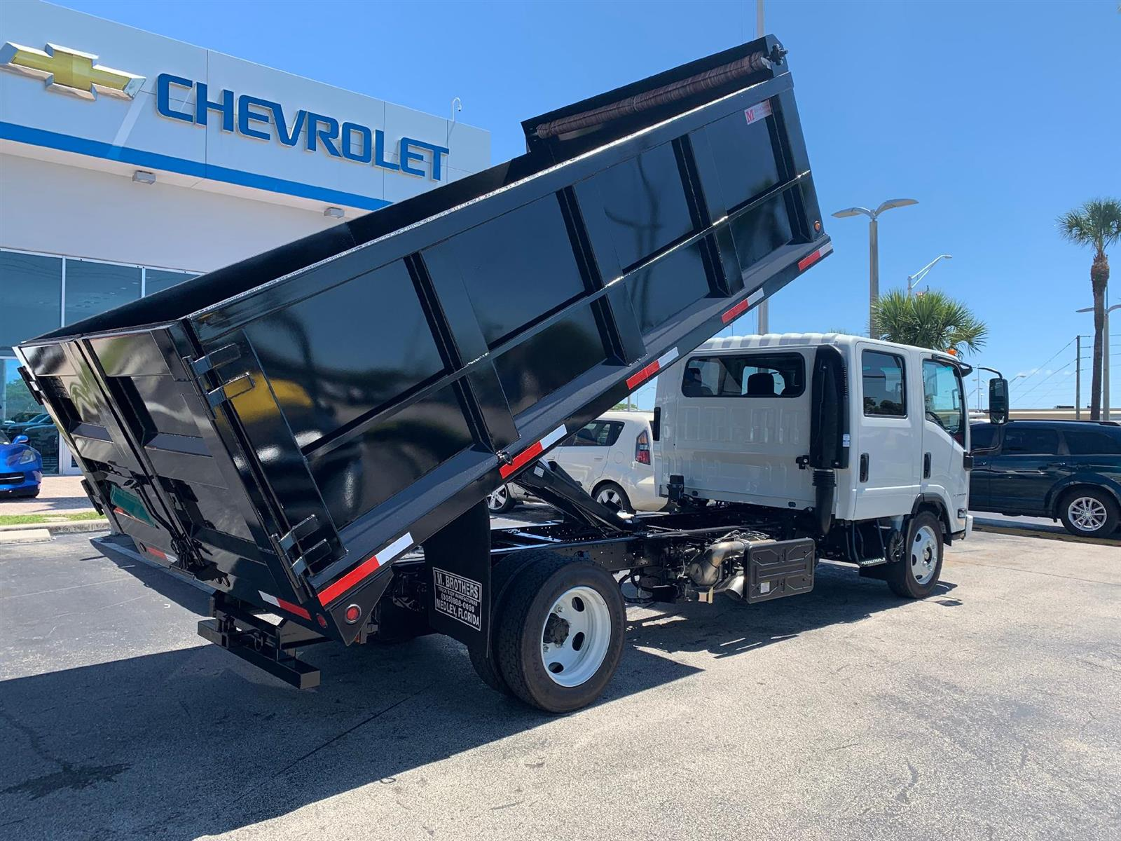 2020 Chevrolet LCF 5500XD Crew Cab RWD, Marquez Brothers Inc. Landscape Dump #L7301095 - photo 1