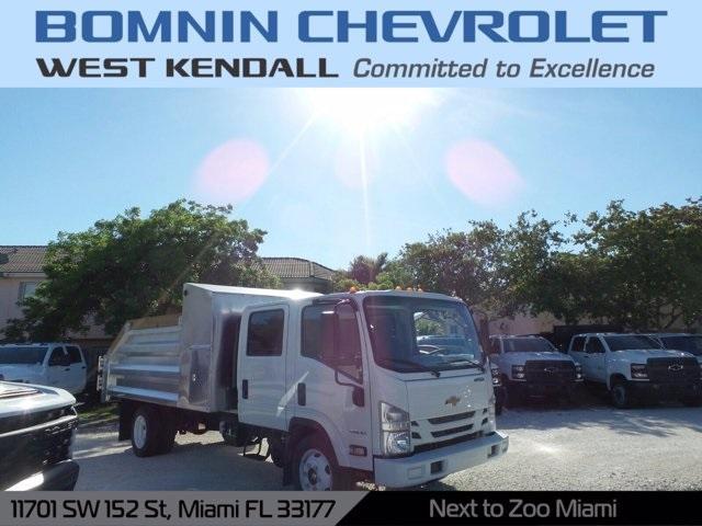 2020 Chevrolet LCF 4500 Crew Cab 4x2, Simplified Fabricators, Inc. Landscape Dump #LS801022 - photo 1