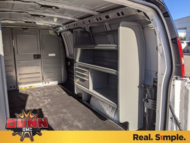 2020 GMC Savana 2500 4x2, Adrian Steel Upfitted Cargo Van #G021510 - photo 1