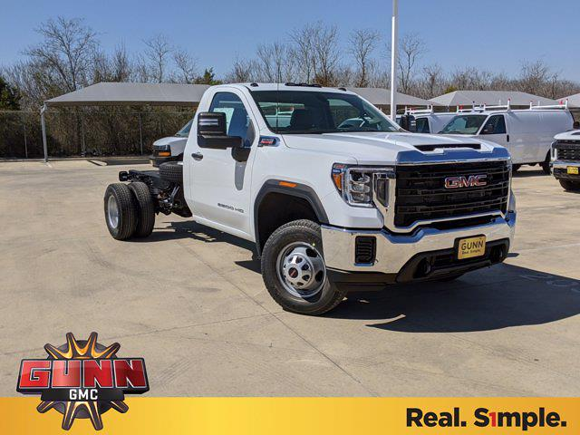 2021 GMC Sierra 3500 Regular Cab 4x2, Cab Chassis #G210463 - photo 1