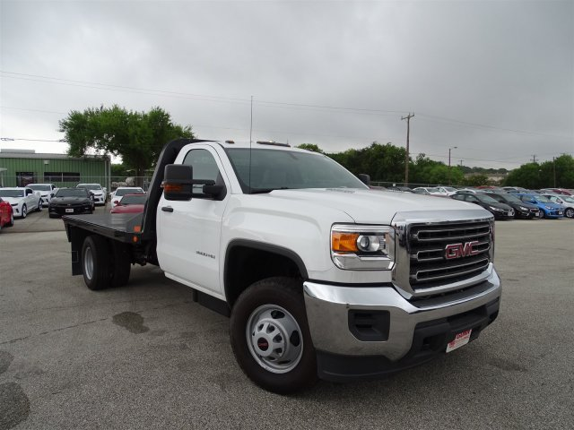 2015 Sierra 3500 Regular Cab, CM Truck Beds Platform Body #G60394 - photo 3