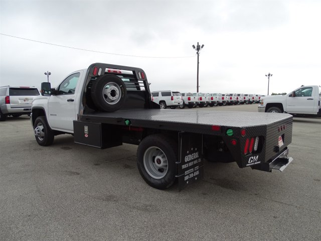 2015 Sierra 3500 Regular Cab, CM Truck Beds Platform Body #G60394 - photo 2