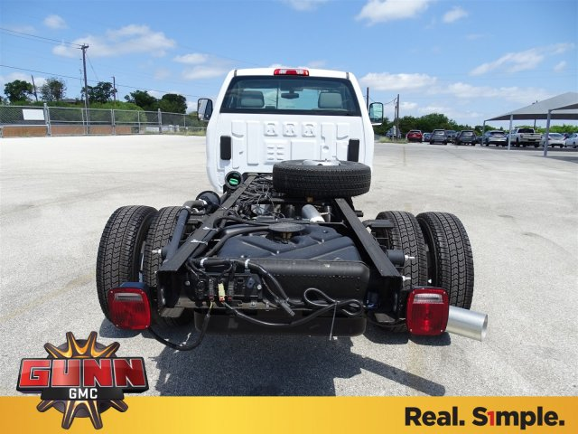 2018 Sierra 3500 Regular Cab DRW 4x4,  Cab Chassis #G80234 - photo 6
