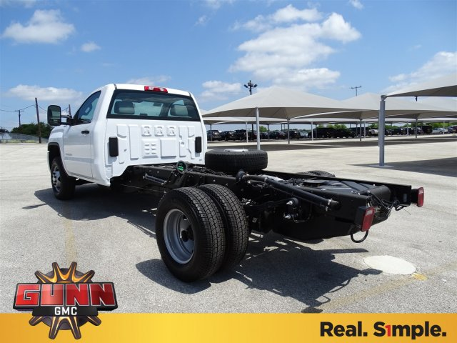 2018 Sierra 3500 Regular Cab DRW 4x4,  Cab Chassis #G80234 - photo 2