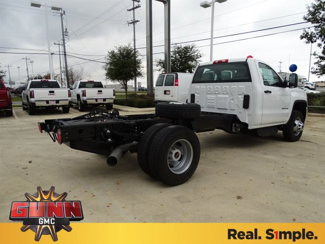 2018 Sierra 3500 Regular Cab DRW 4x4,  Cab Chassis #G80243 - photo 5