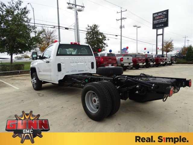 2018 Sierra 3500 Regular Cab DRW 4x4, Cab Chassis #G80243 - photo 2