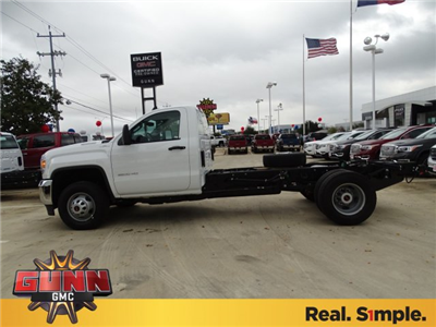 2018 Sierra 3500 Regular Cab DRW 4x4,  Cab Chassis #G80243 - photo 7