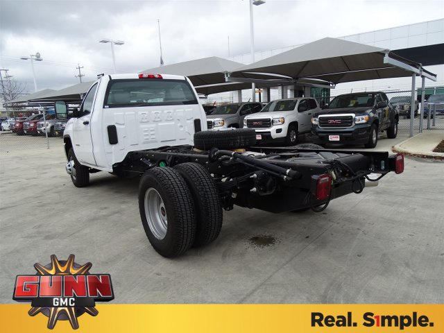 2018 Sierra 3500 Regular Cab DRW 4x4, Cab Chassis #G80247 - photo 2