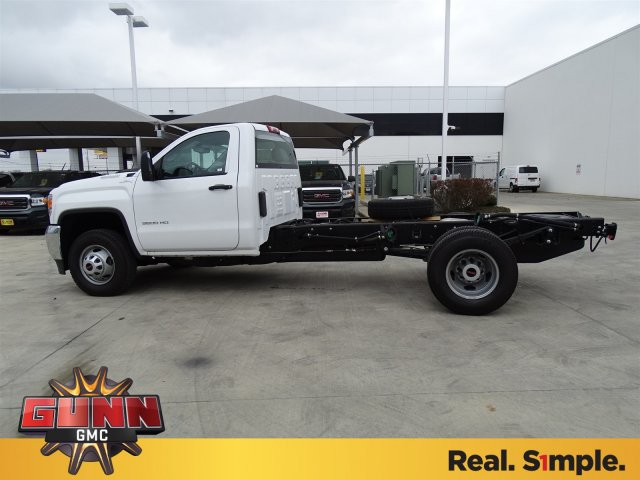 2018 Sierra 3500 Regular Cab DRW 4x4, Cab Chassis #G80247 - photo 7