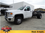 2018 Sierra 3500 Regular Cab DRW 4x4, Cab Chassis #G80247 - photo 1