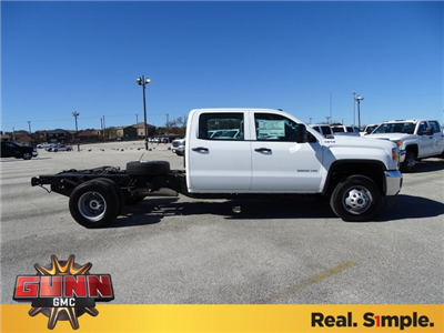 2018 Sierra 3500 Crew Cab DRW 4x4, Cab Chassis #G80356 - photo 4