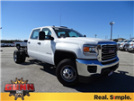 2018 Sierra 3500 Crew Cab DRW 4x4, Cab Chassis #G80356 - photo 3