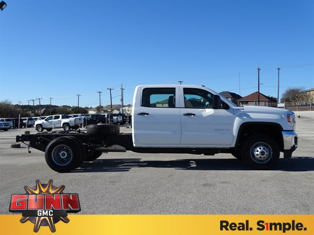 2018 Sierra 3500 Crew Cab DRW 4x4, Cab Chassis #G80407 - photo 4