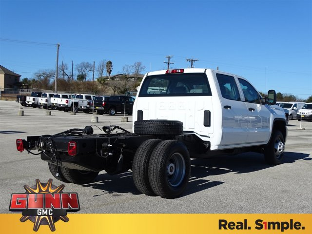 2018 Sierra 3500 Crew Cab DRW 4x4, Cab Chassis #G80407 - photo 5