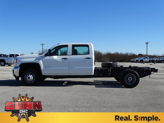 2018 Sierra 3500 Crew Cab DRW 4x4, Cab Chassis #G80407 - photo 7