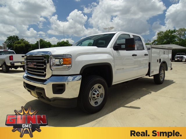 2018 Sierra 2500 Extended Cab 4x2,  CM Truck Beds SB Model Service Body #G80464 - photo 1