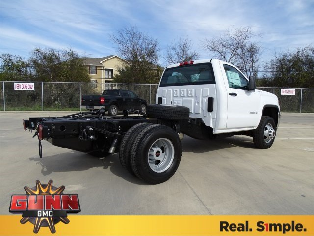2018 Sierra 3500 Regular Cab DRW 4x4,  Cab Chassis #G80474 - photo 2