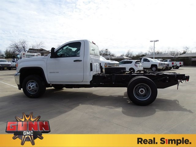 2018 Sierra 3500 Regular Cab DRW 4x4,  Cab Chassis #G80474 - photo 6