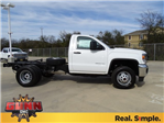 2018 Sierra 3500 Regular Cab DRW 4x4,  Cab Chassis #G80474 - photo 3