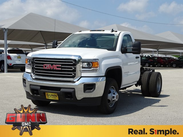 2018 Sierra 3500 Regular Cab DRW, Cab Chassis #G80475 - photo 1