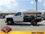 2018 Sierra 3500 Regular Cab DRW, Cab Chassis #G80475 - photo 7