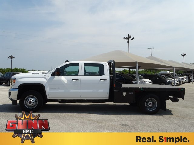 2018 Sierra 3500 Crew Cab DRW 4x4,  CM Truck Beds Platform Body #G81118 - photo 5