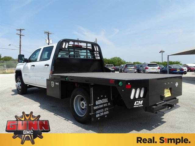 2018 Sierra 3500 Crew Cab DRW 4x4,  CM Truck Beds Platform Body #G81118 - photo 2