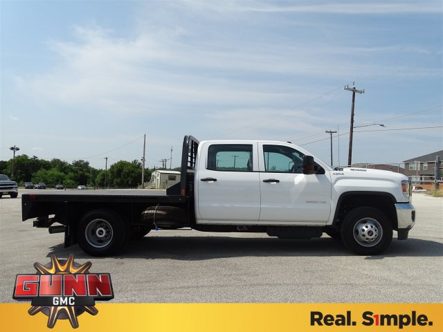 2018 Sierra 3500 Crew Cab DRW 4x4,  CM Truck Beds Platform Body #G81118 - photo 8