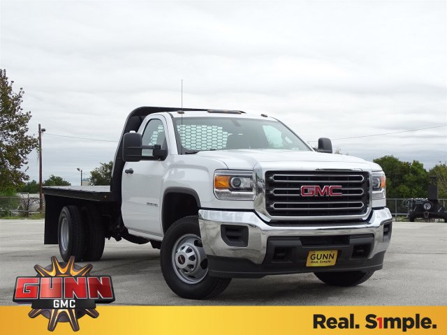 2019 Sierra 3500 Regular Cab DRW 4x2,  Knapheide Platform Body #G90256 - photo 3