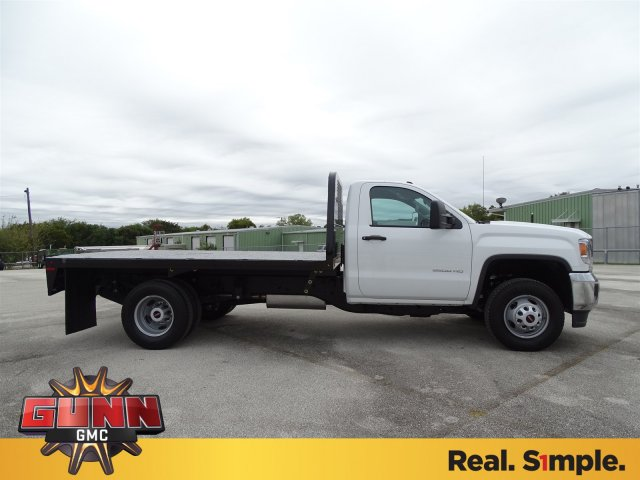 2019 Sierra 3500 Regular Cab DRW 4x2,  Knapheide Platform Body #G90256 - photo 4