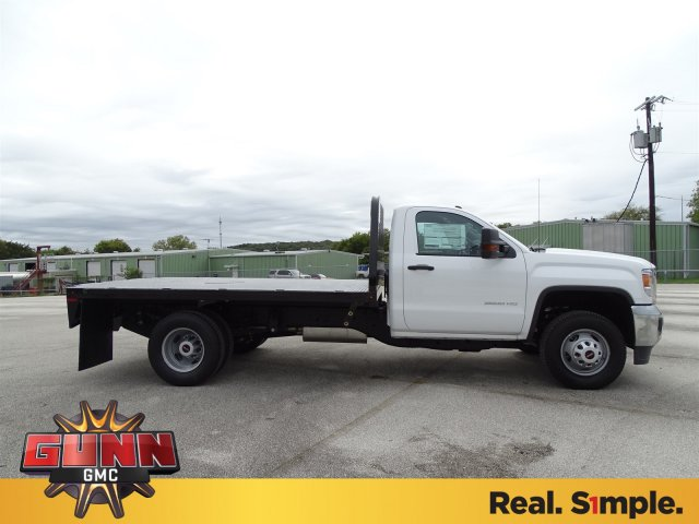 2019 Sierra 3500 Regular Cab DRW 4x2,  Knapheide Platform Body #G90257 - photo 4
