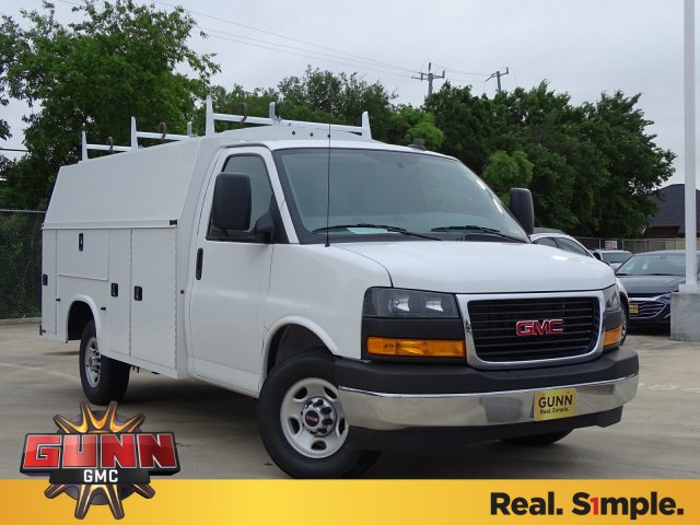 Gmc Savana 3500 >> New 2019 Gmc Savana 3500 Service Utility Van For Sale In Selma Tx