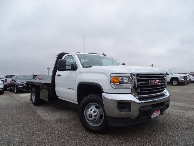 2015 Sierra 3500 Regular Cab, Platform Body #GT70490 - photo 3