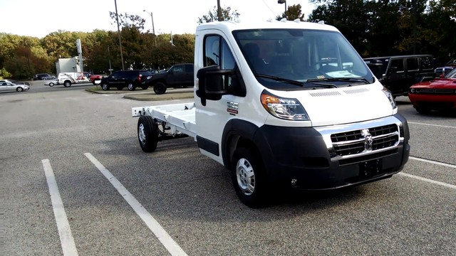 2017 ProMaster 3500, Cab Chassis #R17502 - photo 5