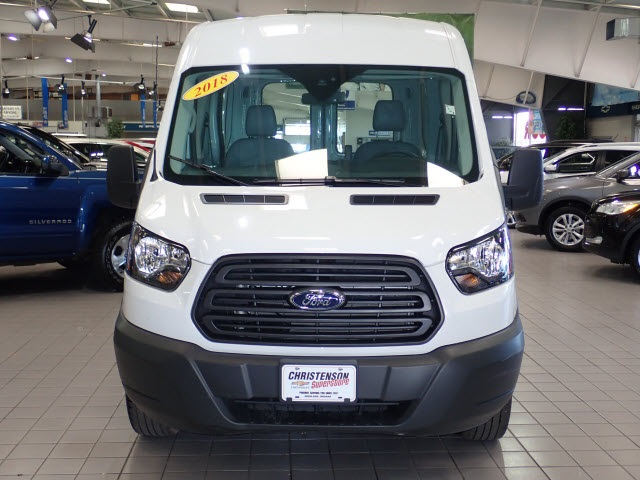 2018 Transit 250 Med Roof 4x2,  Empty Cargo Van #2308 - photo 3