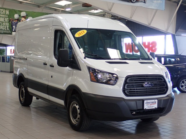 2018 Transit 250 Med Roof 4x2,  Empty Cargo Van #2308 - photo 4