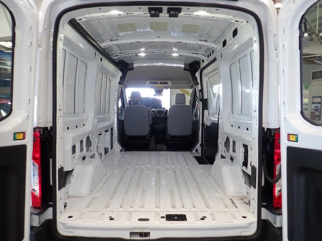 2018 Transit 250 Med Roof 4x2,  Empty Cargo Van #2308 - photo 9