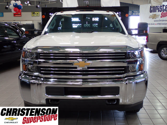 2016 Silverado 3500 Regular Cab 4x4, Stake Bed #60667 - photo 4
