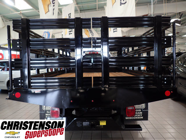 2016 Silverado 3500 Regular Cab 4x4, Stake Bed #60667 - photo 5