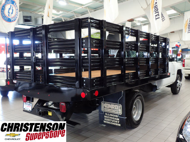 2016 Silverado 3500 Regular Cab 4x4, Stake Bed #60667 - photo 6