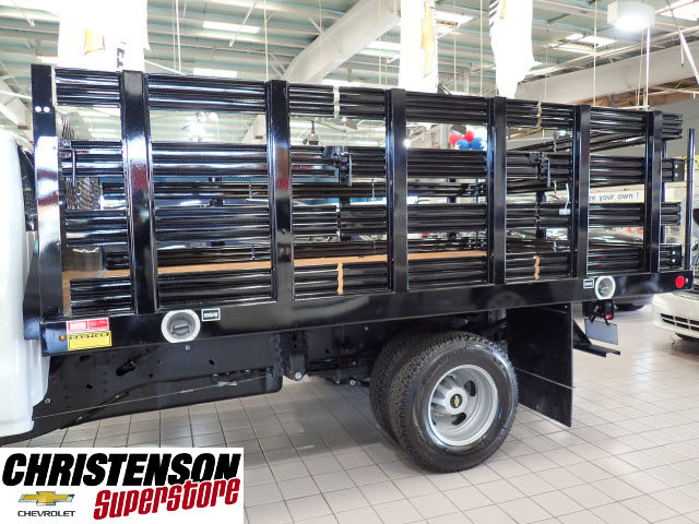 2016 Silverado 3500 Regular Cab 4x4, Stake Bed #60667 - photo 7