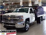 2016 Silverado 3500 Regular Cab 4x4, Stake Bed #60667 - photo 1