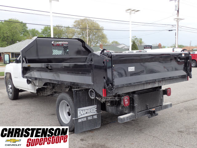 2016 Silverado 3500 Regular Cab 4x4, Knapheide Dump Body #61113 - photo 2