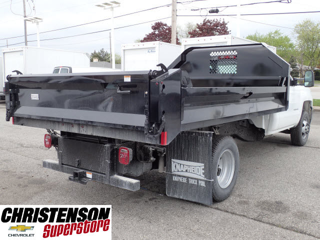 2016 Silverado 3500 Regular Cab 4x4, Knapheide Dump Body #61113 - photo 6