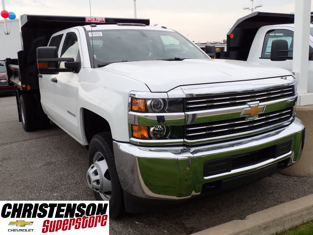 2016 Silverado 3500 Crew Cab 4x4, Dump Body #61252 - photo 3