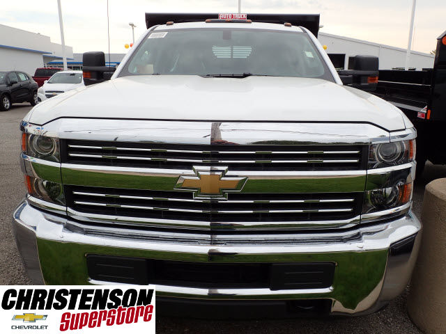 2016 Silverado 3500 Crew Cab 4x4, Dump Body #61252 - photo 4