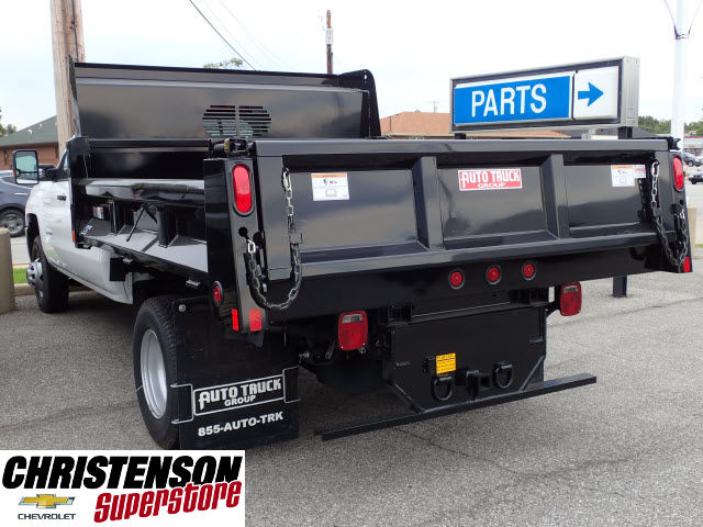 2016 Silverado 3500 Crew Cab 4x4, Dump Body #61252 - photo 2